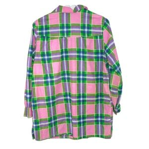 Unbranded Shirts - VTG Plaid Western Single Stitch Snap Shirt Men's S
